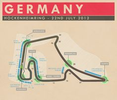 Hockenheimring, Germany. Despite not being as well known as the Nurburgring, it's a track that seems interesting to race on.