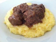 Stufato di Manzo with Polenta (Beef Stew)