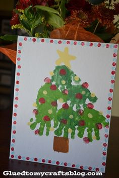 Christmas Handprint Crafts {Kid Approved!}