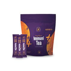 Immuni-Tea Elevate Your Defenses! Immuni-Tea is a blend of vitamins and all-natural herbal extracts, like turmeric and Tulsi, that will help you feel your very best. So what can Immuni-Tea do for you? Help regulate your digestive system* Aid in boosting your body's defenses* Promote good gut bacteria, which may increase gut health* Anti-inflammatory and antioxidant-rich ingredients may help your body adapt to stressors* So rip, sip, and be ready for whatever life throws at you! *These statem Gut Health, Health And Wellness, Resolution Drops, Good Gut Bacteria, Turmeric Extract, Orange Tea, Herbal Extracts, Weight Loss Supplements, New Product