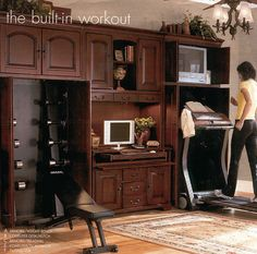 concealing the treadmill in guest bedroom if it won't fit ...