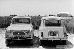 Renault R4 (1961) - Alles über Renault hier: https://www.zwischengas.com/de/themen/Renault?utm_content=bufferd0562&utm_medium=social&utm_source=pinterest.com&utm_campaign=buffer  Foto © Zwischengas Archiv