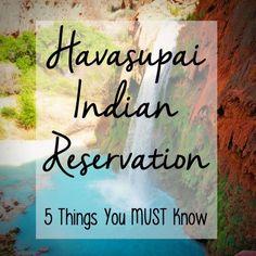 Havasupai Indian Reservation I Havasu Falls I Hiking Grand Canyon I Mooney Falls I Havasu Tips