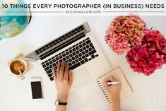 10 Things Every Photographer (In Business) Needs | Design Aglow