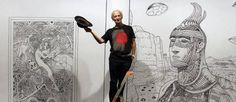 Docteur Giraud et mister Moebius Moebius Comics, Moebius Art, Manado, Fondation Cartier, Jean Giraud, Max Ernst, World Of Fantasy, Gaston, Art Graphique