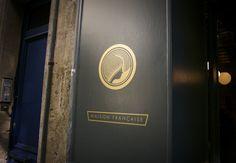 Fine Tea shop in Bordeaux, france, Identity design. Collateral Design, Identity Design, Logo Design, Graphic Design, Bordeaux, France, Volkswagen Logo, Packaging Design Inspiration, Creative Package