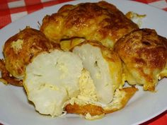 Low Carb Recipes, Healthy Recipes, Snacks, Mashed Potatoes, Cauliflower, French Toast, Food And Drink, Cheese, Meat