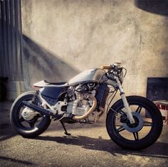Moto-Mucci: DAILY INSPIRATION: Garage Project Motorcycles CX500 Cafe Teasers