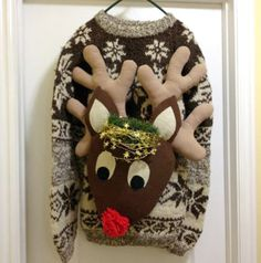 Rudolph the red-nosed reindeer - sweater