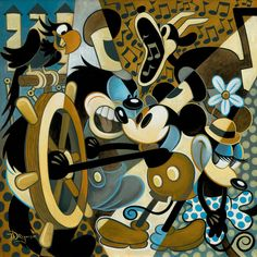 Of Mice and Music, Original animation art hand embellished giclee on canvas of Mickey Mouse from Disney Studios. This page links to our main page which has over 5000 pieces of animation art from Disney, Simpsons, Warner, etc. Disney Love, Disney Mickey, Disney Pixar, Epic Mickey, Disney Stuff, Mickey Mouse Y Amigos, Mickey Mouse And Friends, Disney Animation, Rapunzel