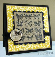 By: Kendra Wietstock; Crafter's Companion (Stamp-It Australia Birds and Butterflies) @CraftersCompanion