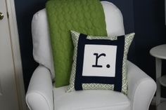 Love this for a Navy and  Green Nursery
