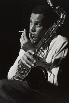 Dexter Gordon photographed by Francis Wolff.