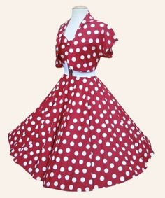 Loving the 50's dresses. Don't care if you say Minnie Mouse, I MUST HAVE THIS DRESS!!!! OMG!!! LOVE THIS SOOO MUCH!