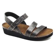 """""""Kayla"""" by NAOT in METAL is super cute. Great for walking! $130.00!"""
