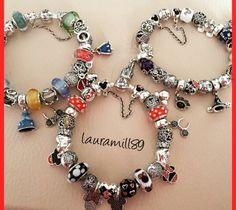 Disney Pandora Bracelet, Pandora Bracelets, Pandora Jewelry, Pandora Charms, Pandora Disney Collection, Disney Charms, Disney Love, Bracelet Designs, Jewerly