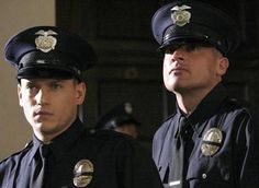 My fantasy!!  YUM!   Wentworth Miller and Dominic Purcell (Michael Scofield and Lincoln Burrows from Prison Break)
