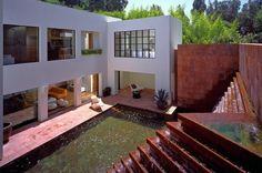 Luis Barragán Fountain Home  1150 Brooklawn Drive  Bel Air