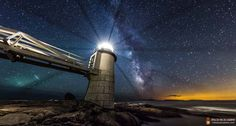 Through his photography, he shows the world what the night sky REALLY looks like.