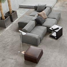 Sofa Design, Furniture Design, Interior Design, Home Theater Rooms, Home Theater Design, Home Living, Living Room Sofa, Chaise Longue Design, Luxury Sofa