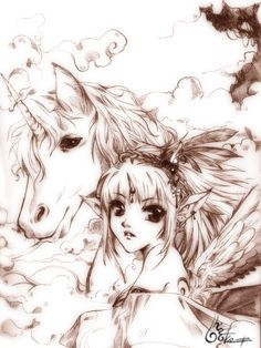 Unicorn Paradise by ~tashachan on deviantART