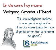 Mozart fue un compositor y pianista austriaco considerado como uno de los músicos más influyentes y destacados de la historia.