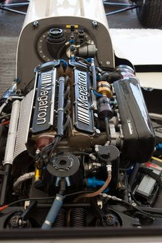 Ex Derek Warwick 1988 Formula 1 Arrows / Megatron BMW Turbo Heini Mader Racing Components, at Goodwood Festival of Speed, Motor Engine, Car Engine, F1 Racing, Drag Racing, Derek Warwick, Bmw Turbo, Bmw M1, Race Engines, Goodwood Festival Of Speed