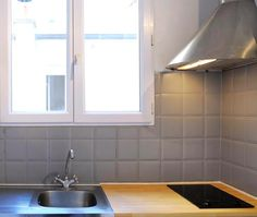 1000 images about cuisine on pinterest plan de travail - Peut on peindre du carrelage ...