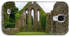 Refectory Galaxy S4 Cases - Grey Abbey Refectory Galaxy S4 Case by Nancy L Marshall