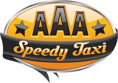 AAA Speedy Taxi Logo by Gary Mullin, via Behance