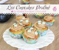 Cupcakes au praliné et coeur fondant chocolat - Contenido seleccionado con la ayuda de http://r4s.to/r4s