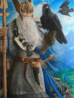 Odin. For more Viking facts please follow and check out www.vikingfacts.com don't forget to support and follow the original Pinner/creator. Thx
