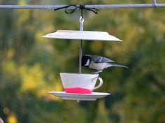 Nichoirs à oiseaux _ Coffee Klatsch NEON pink - création de renna-deluxe sur DaWanda