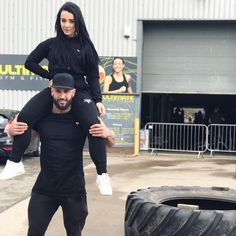 Couple goals with @liampmac1987 and @ellehargreaves  Wearing the Longline Versus Tee in XL and our Cropped Hoodie and Lightweight Bottoms in S available from GYMVERSUS.com  Send us your snaps and tag @gymversus  Shape Your Future  #gymversus #shapeyourfuture #activewear #luxe #sportswear #athleisure #fashion #performance #style #london #clothing #apparel #health #fitness #fit #fitnessmodel #model #girl #fitspo #photooftheday #selfie #active #strong #motivation #instagood #determination…
