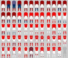 Every #Arsenal Home Kit: