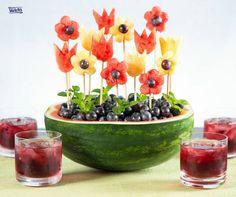 Um jardim florido e saboroso! Rss...