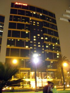 Lima - ha! Got my hair done in that hotel... Across the street from Larco mar... Love it.