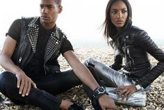 burberry spring summer 2011 advertising campaign 1 Burberry SS11 Campaign | Jourdan Dunn & Sacha M'Baye