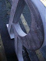 Dekorácie -  18cm iniciála R - 1802766