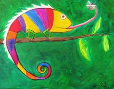 Chameleon - super brilliant & adorable...