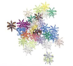 Mix Color Snowflake Shaped Acrylic Beads Jewelry Making Loose Findings Snowflake Shape, Acrylic Beads, How To Make Beads, Different Styles, Color Mixing, Snowflakes, Beaded Jewelry, Jewelry Making, Shapes
