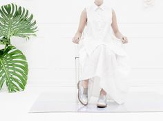 Eureka Shoes is a contemporary footwear and accessories label for men and women. Eureka Shoes, Ss 15, Campaign, White Dress, Spring Summer, Dresses, Women, Fashion, Vestidos