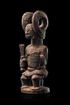 Igbo Ikenga Madu ('Warrior' Right Hand Altar Figure), Nigeria http://www.imodara.com/post/94918098619/nigeria-igbo-ikenga-right-hand-altar-figure