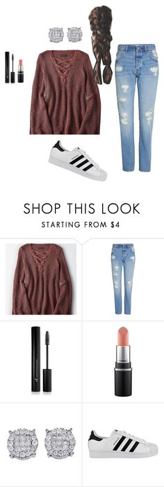 """""""what i wore today ♡"""" by thewalkingspirit on Polyvore featuring American Eagle Outfitters, Forever 21 and adidas"""