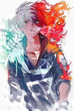 Bnha todoroki shouto my hero academia boku no hero academia, My Hero Academia Episodes, My Hero Academia Memes, Hero Academia Characters, Anime Naruto, Manga Anime, Manga Art, Boku No Hero Academia Todoroki, My Hero Academia Manga, Anime Angel