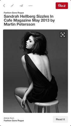 Woman bw dress back sitting dark