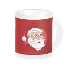 Santa Clause Cartoon Mugs