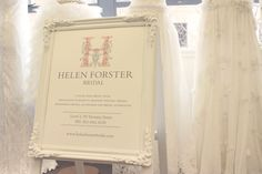 Helen Forster - The Empress of Wedding Gowns by Johanna Osborne. It doesn't matter how you look at it, for a bride-to-be there simply is nothing more important than the dress! Designer Wedding Dresses, Signage, Profile, Invitations, Bride, Cards, User Profile, Wedding Bride, Bridal