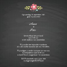 Huwelijksuitnodigingen door u aangepast bij Optimalprint Benelux
