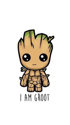 I am Groot! I am Groot. I am Groot. I am Groot. I am Groot. :) I am Groot. Kawaii Drawings, Disney Drawings, Cute Drawings, Cartoon Drawings, Pencil Drawings, Cute Wallpaper Backgrounds, Wallpaper Iphone Cute, Cute Cartoon Wallpapers, Baby Wallpaper